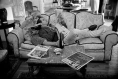 Paul Newman and Joanne Woodward, Paris, November 1960