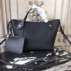 Buy LOUIS VUITTON Replica of top quality from China - Hina PM Mahina Leather is exclusively of top original order quality. Lv Handbags, Handbags On Sale, Louis Vuitton Handbags, Luxury Handbags, Vuitton Bag, Black Handbags, Designer Handbags, White Louis Vuitton, Buy Louis Vuitton
