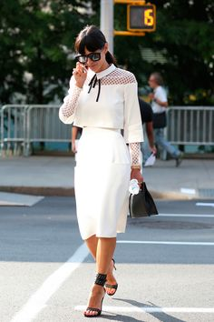 New York Fashion Week Spring 2015 Attendees Pictures - StyleBistro