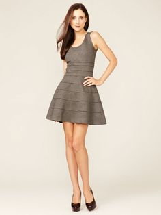 Banded A-Line Dress by Issa London on Gilt.com