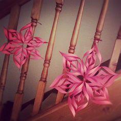diy christmas decorating | DIY Christmas Decorations - Paper StarAll things handmade