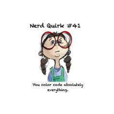 Nerd Quirks ❤ liked on Polyvore featuring words