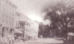 Main Street on the east side of Redwood at the turn of the century. East Side, Main Street, Vintage Images, Maine, History, Painting, Outdoor, Photos, Art