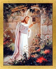 Jesus Christ Knocking At the Door Religious and Spiritual... https://www.amazon.com/dp/B00GSLM1L6/ref=cm_sw_r_pi_dp_x_KlJ6xbVE92HTS
