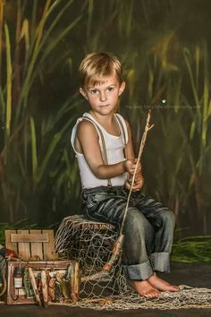 *Kids photo fishing shoot. Photography