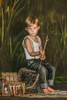 *Kids photo fishing shoot. Photography