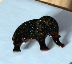 large elephant brooch  £7.50
