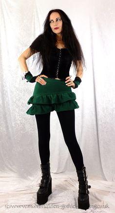 Snugglegoth Mini Skirt by Moonmaiden Gothic Clothing UK