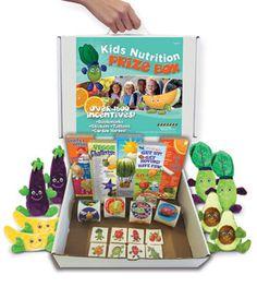 Hundreds of Rewards Kit: Stickers, Tattoos, Bookmarks, Plush Garden Heroes: Kids Nutrition Prize Box
