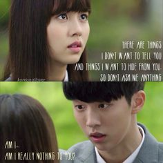 Who Are You: School show gives me the emotions Korea Quotes, Quotes Drama Korea, Drama Quotes, K Drama, Drama Fever, Who Are You School 2015, 2015 Quotes, Kim Sohyun, Romantic Scenes