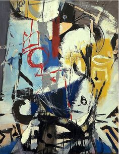 "Franz Kline ""Untitled"", 1948 (USA, Abstract Expressionism, 20th cent.)"