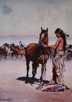 by Doug Prine Oil ~ x Native American Face Paint, Native American Models, Native American Paintings, Native American Pictures, American Indian Art, Native American History, Native American Indians, Native Indian, Native Art