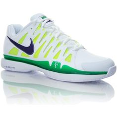 Nike Roger Federer N Zoom Vapor 9 Tour Wimbledon shoes - these are SWEET!  Enzo Balbi · ropa de tenis ff2c0a685e580