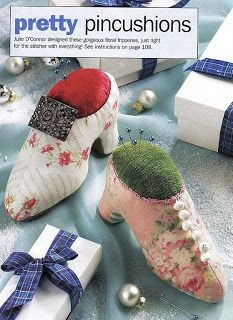 Pincushions - shoes - pattern