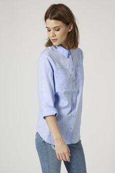 Chambray Shirt - Topshop