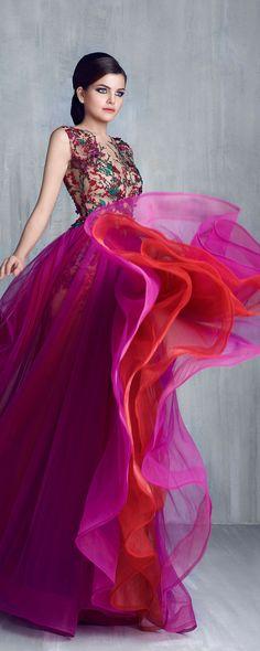 Tony Chaaya Printemps-été 2016 - Haute couture - http://fr.orientpalms.com/Tony-Chaaya-6127