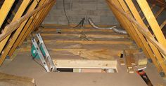 Cool attic remodel