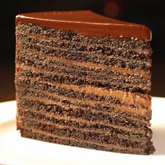 Strip House Manhattan, NY Conceived as take on old stuff steakhouse #1 Chocolate: 24-Layer Chocolate Cake (10 pound)