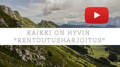 Rentoutusharjoitus | Kaikki on hyvin 16min | Tytti Koro Mindfulness, Meditation, Relax, Classroom, Youtube, Kids, Class Room, Children, Boys