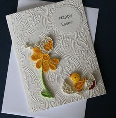 Quilled easter card por Especially4UHandmade en Etsy