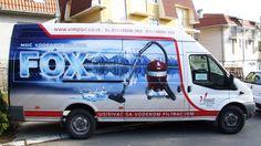 Brendiranje vozila i poslovnih prostora Pacarti studio Beograd Srbija Fox