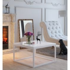 Lucca, Yoshi, Dining Bench, Oversized Mirror, Furniture, Design, Home Decor, Living Room, Decoration Home
