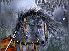 Native Indian horse