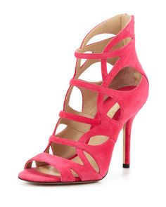 Casey Suede Strappy Sandal by Michael Kors at Neiman Marcus.