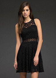 Lace Skater Dress SKU: 10356710