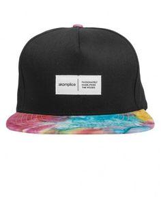 Akomplice - Tie Dye Snapback Cap - $30