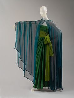 Evening dress Design House: Yves Saint Laurent, Paris (French, founded 1961) Designer: Yves Saint Laurent (French (born Algeria) Oran 1936–2008 Paris) Date: spring/summer 1989 Culture: French