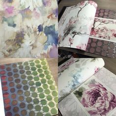 Fall in love with the Romantique collection from Carl Robinson Wallpaper available from John Charles Interiors