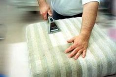 How to clean upholstered furniture at home - try Castile soap instead of dish soap