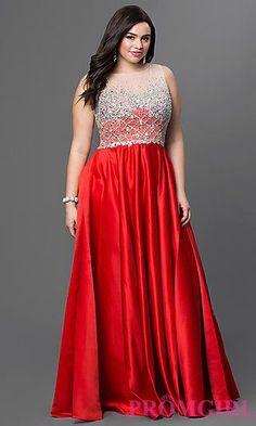 2 piece prom dresses plus size quarter
