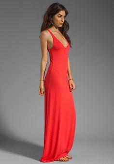 FEEL THE PIECE V Neck Maxi Dress in Dacquri Revolve Clothing 819b535e3