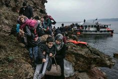 Propelled by fear and desperation, Syrian refugees have faced one hurdle after another. Syria News, Syrian Refugees, Mothers Love, Ny Times, Hiking Boots, Cool Pictures, Germany, Europe, America