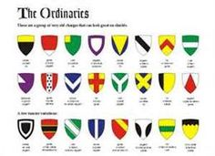 Medieval Heraldry Symbols and Meanings - Bing Images Archaeology For Kids, Symbols And Meanings, Shield Design, Medieval Armor, Chivalry, British History, Letter Logo, Glyphs, Coat Of Arms