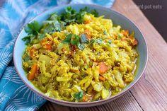 Sri Lankan Coconut Cabbage | Instant Pot Pressure Cooker Recipe