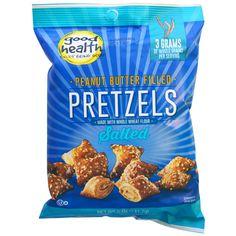 2,80 Good Health Natural Foods, Peanut Butter Filled Pretzels, Salted, 5 oz (141.7 g)