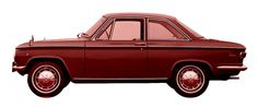 http://chicerman.com  carsthatnevermadeit:  carsthatnevermadeit:  Mazda Familia 1000 Coupe (first generation model) 1963  Another view of the Giugiaro/Bertone Mazda Famila Coupe when I first posted it I wrongly dated it as 1963 actually it debuted in 1965  #cars