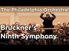 Conductor Yannick Nézet-Séguin leads The Philadelphia Orchestra in a performance of Bruckner's unfinished Ninth Symphony. This performance was captured live in Carnegie Hall's Stern Auditorium / Perelman Stage on May 2, 2014.