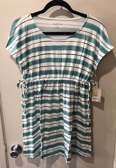 8e9566bd3dd02 Cotton Breastfeeding Maternity Bra - Mommies Best Mall. See more. NWT MSRP  $36Maternity a:glow Empire Striped Tee Teal Size Small #fashion #