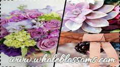 Why waste time running everywhere in the market to get bulk #wholesale#flowers when you can get it all under one roof here at http://www.wholeblossoms.com/
