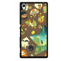 Mario Super Villains TATUM-6902 Sony Phonecase Cover For Xperia Z1, Xperia Z2, Xperia Z3, Xperia Z4, Xperia Z5