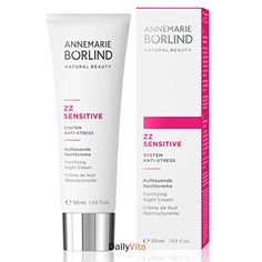 Annemarie Borlind ZZ Sensitive Night Cream 17 Fluid Ounce ** Read more reviews of the product by visiting the link on the image.