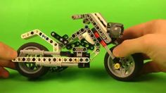 build this robot in Your classroom: http://www.robocamp.eu/ exercise available in English, Russian, Spanish and Polish   The basic element of this unique construction is a motorcycle model. The motorcycle is powered by a motor connected to it via a gearbox and propellor shaft. The robot has a distance sensor which counts the laps it performed. Different bikes, their history and appearance, and how they have changed through time, can be discussed afterwards.