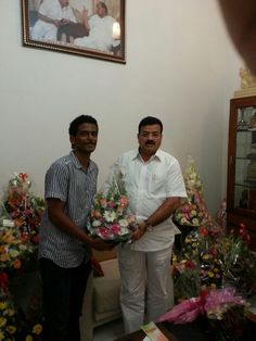 Malhar Takle with NCP State President Hon. Bhaskar Jadhav saheb .