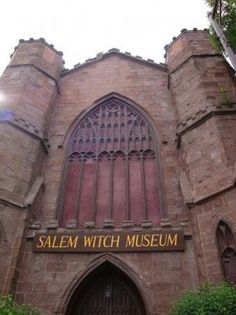 Went here with my mother-in-law on my first trip to Salem. Salem, Massachusetts