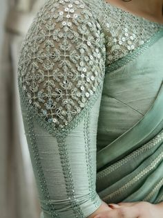 Netted Blouse Designs, Fancy Blouse Designs, Bridal Blouse Designs, Latest Saree Blouse Designs, Indian Blouse Designs, Hand Work Blouse Design, Stylish Blouse Design, Designer Blouse Patterns, Pattern Blouses For Sarees