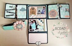 ¡Scrap al poder!: Mini-album Never Forget para mi hermana